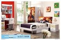 906 Спальня мебель кровать гардероб тумбочка вращающееся кресло стоячая вешалка для шляп набор мебели