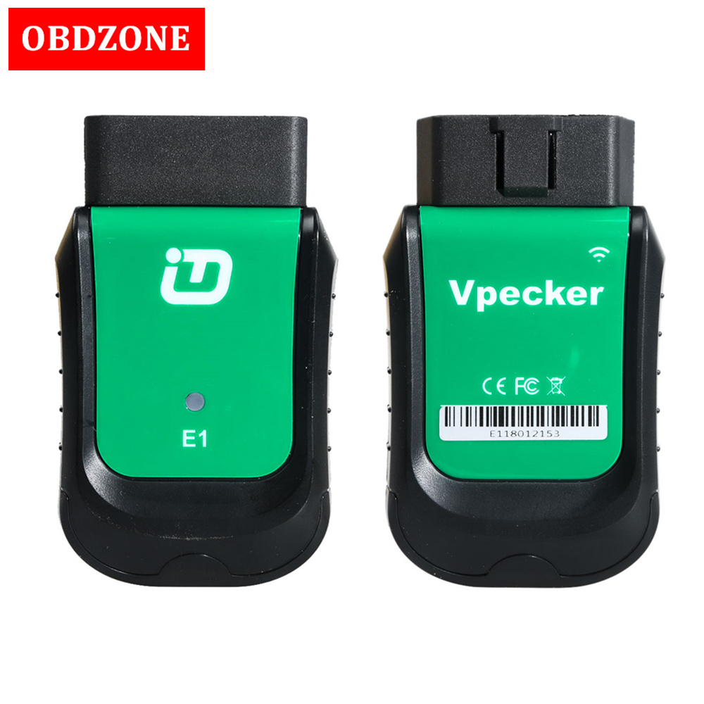 VPECKER Easydiag E1 WiFi OBDII Full Diagnostic Tool With Special Function Vpecker Scanner Support Windows 10