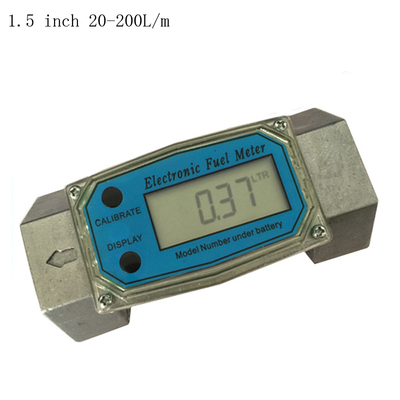 1.5inch turbine flowmeter electronic oil Table Diesel / kerosene / petrol / methanol / water flow meter матрас konkord classic comfort strutto 120x200x22