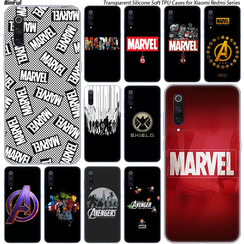 hot-luxury-marvel-comics-silicone-case-for-xiaomi-pocophone-font-b-f1-b-font-9t-9-9se-8-a2-lite-a1-a2-mix3-redmi-k20-7a-note-4-4x-5-6-7-pro-s2