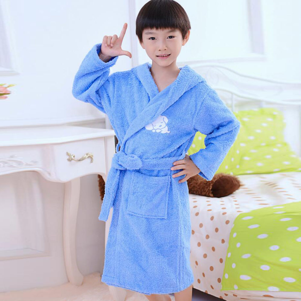 ③Free shipping 2016 Fashion Boys&Girls Toweling Robe Children\'s ...