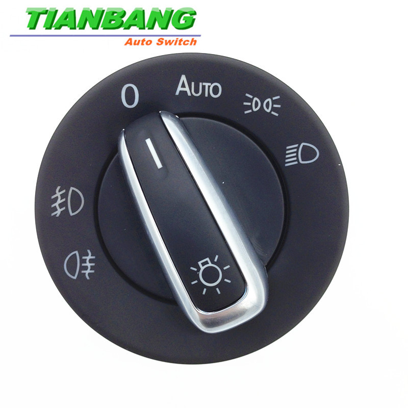 Chromeheadlight туман лампа переключатель для seatalhambra vwmultivan транспортер Caddy Гольф Jetta 3c8 941 431a 5ND 941 431 B Авто Запчасти