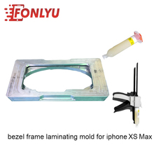 Magnet Fasten Design Bezel Frame Laminating Mold (With Glue Gun And Glue)For iphoneXS Max LCD Repairing Tool