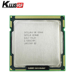 Intel X3440 2.53 GHz LGA1156 8 M Cache 95 W Desktop CPU
