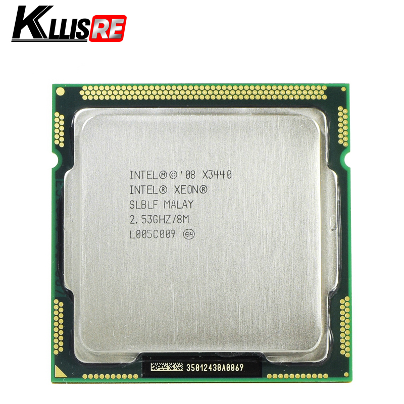 Intel Xeon X3440 Processor Quad Core 2.53GHz LGA1156 8M Cache 95W Desktop CPU title=