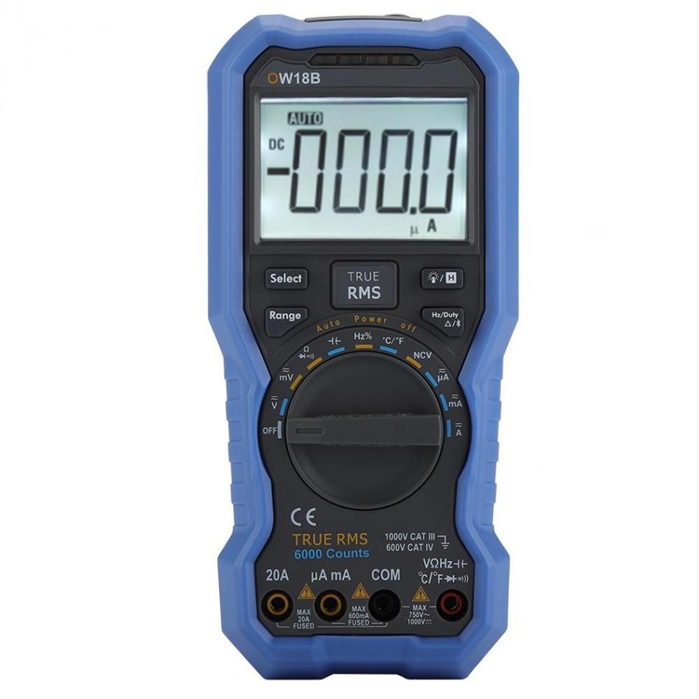 OWON OW18B Original Digital DC AC NCV Data Multimeter Logger Bluetooth Ammeter Voltmeter With K type