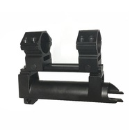 Tactical Scope Mount 20mm SKS Top Receiver Cover With High profile See Thru Rail Weaver Picatinny Rail kxs05047