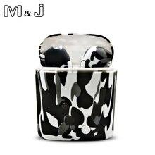 M & J i7s СПЦ красочные беспроводной Bluetooth Спортивная гарнитура наушники с зарядным устройством для всех смартфонов не Airpod