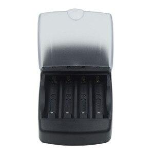 Image 3 - Cargador de batería con pantalla LED de 4 ranuras, para pilas de litio alcalinas AA, AAA, AAAA, 1,5, 14500, 16340, 10440, 10340, 3,7 V
