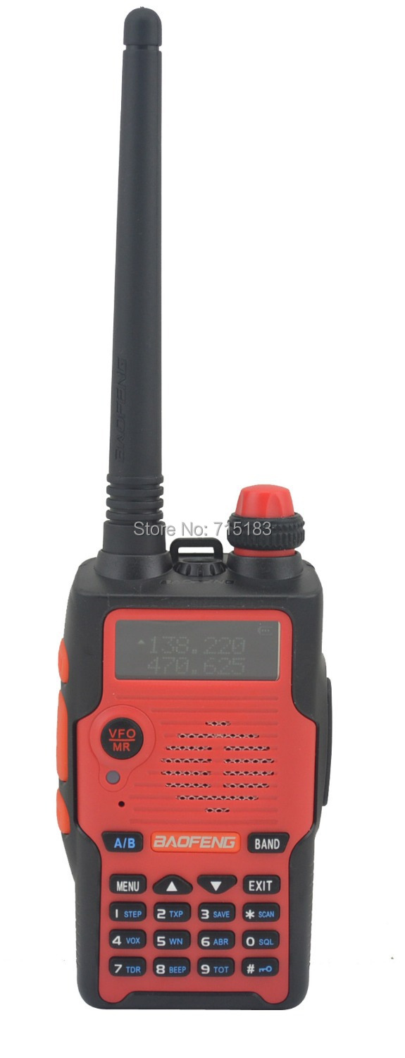 2pcs/set Baofeng BF-E500S VHF136-174MHz&UHF400-520MHz Dual Band 5W Walkie Talkie With Free Earphone Portable Two-way Radio