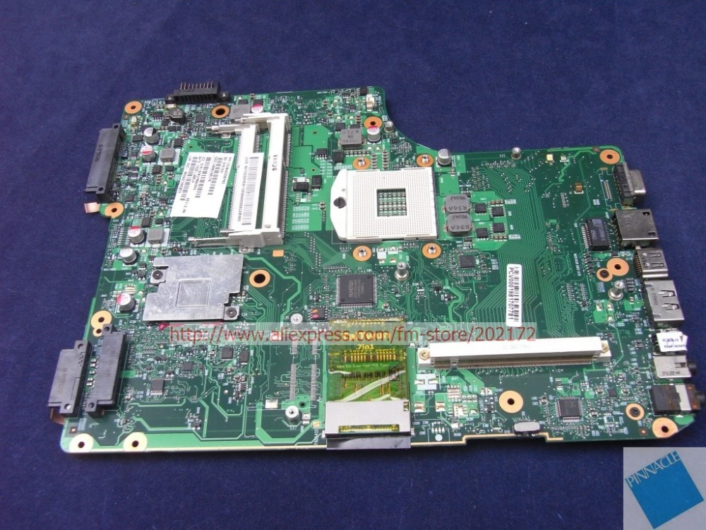 V000198170  motherboard for Toshiba Salitelite  A500 A505 6050A2338701 nokotion sps v000198120 for toshiba satellite a500 a505 motherboard intel gm45 ddr2 6050a2323101 mb a01