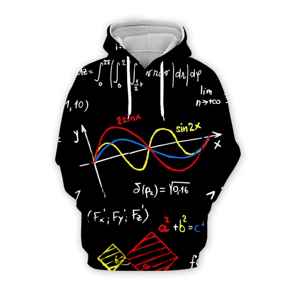 Plstar Cosmos Math Science Hoodies For Boy Graphic 3d Sweatshirts/Vest/Tee Men/Women Funny Print Einstein Zipper Casual Style-3
