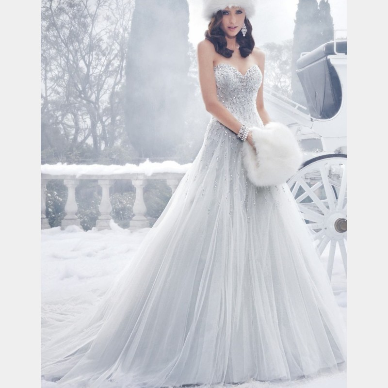 Online get cheap silver wedding dresses for Dresses for silver wedding anniversary