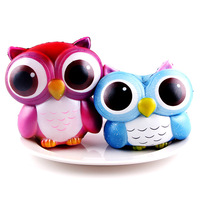 5PCS Lot New Kawaii Owl Squishy Slow Rising Phone Strap Scented Bread Squishies Kids Gifts