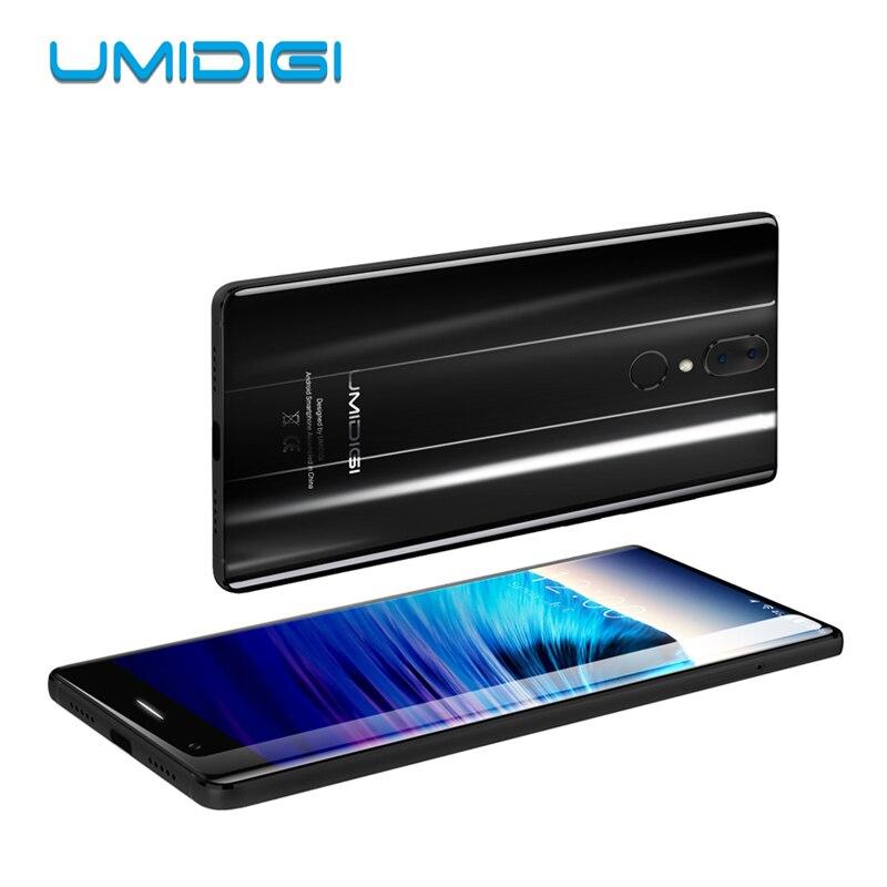 UMIDIGI Cristallo Smartphone 2 GB di RAM 16 GB di ROM Android 7.0 MTK6737T Quad Core 5.5
