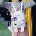 2017 New Hot Fashion Women Female Cartoon Cat Students School Bag Backpack Zipper Printing Casual Backpacks Shoulder Bags