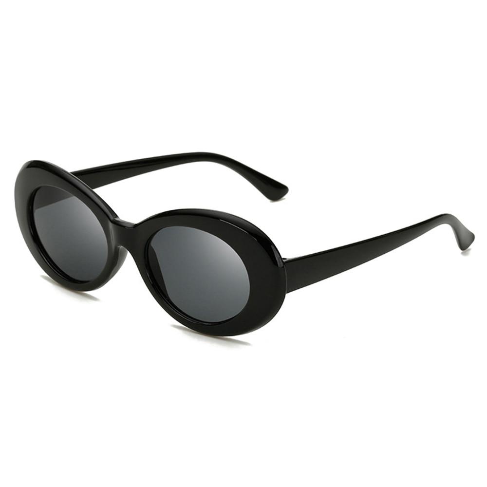 9e48da9e0f323 Designer de Nova Unisex Óculos Kurt Cobain Oval Baratos das Mulheres da  Moda Óculos De Sol Dos Homens Anti UV400 Óculos Vintage Óculos De Sol para  Carros em ...