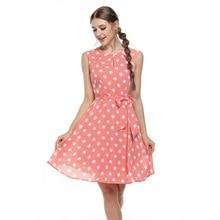 Sexy vestido summer dress dot print