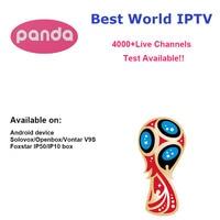 Panda IPTV Android TV Box APK Solovox V9S + Arabic French Italy Germany UK Turkey Latin America Spain Sweden Poland Ethiopia
