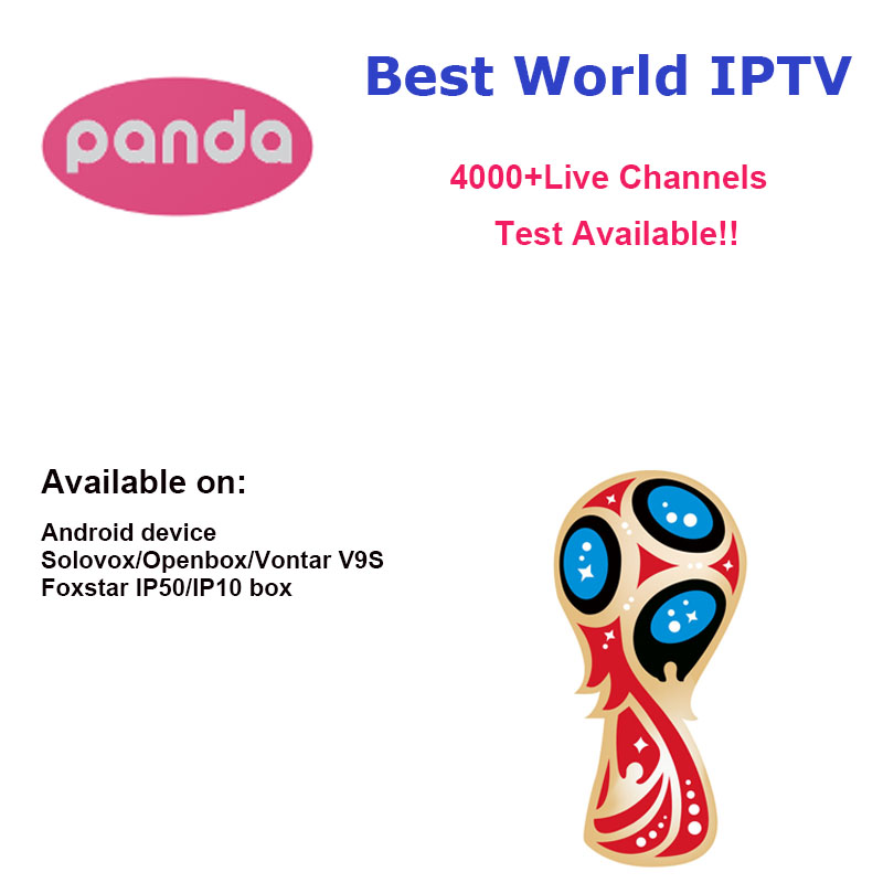 Panda IPTV Android TV Box APK Solovox V9S + Arabic French Italy Germany UK  Turkey Latin America Spain Sweden Poland Ethiopia