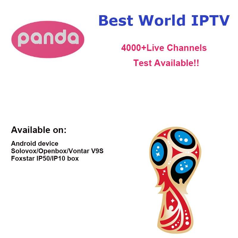 Panda IPTV Android TV Box APK Solovox V9S + Arabisch französisch Italien  Deutschland UK Türkei Lateinamerika Spanien Schweden Polen äthiopien