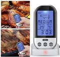 Digital Wireless Remote Kitchen Oven Food Cooking/BBQ Grill Smoker Meat Thermometer Temperature Gauge&Alert