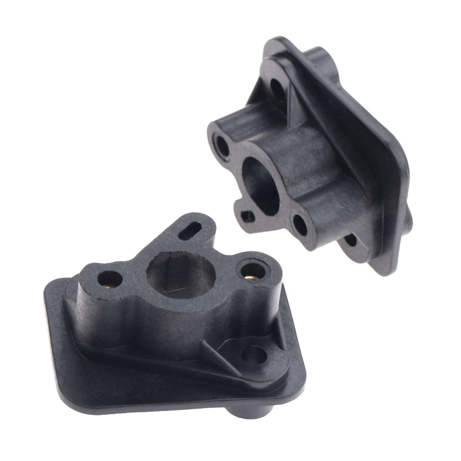Black Inlet Carburettor Intake Manifold 43cc 49cc Brushcutter MultiTool Strimmer