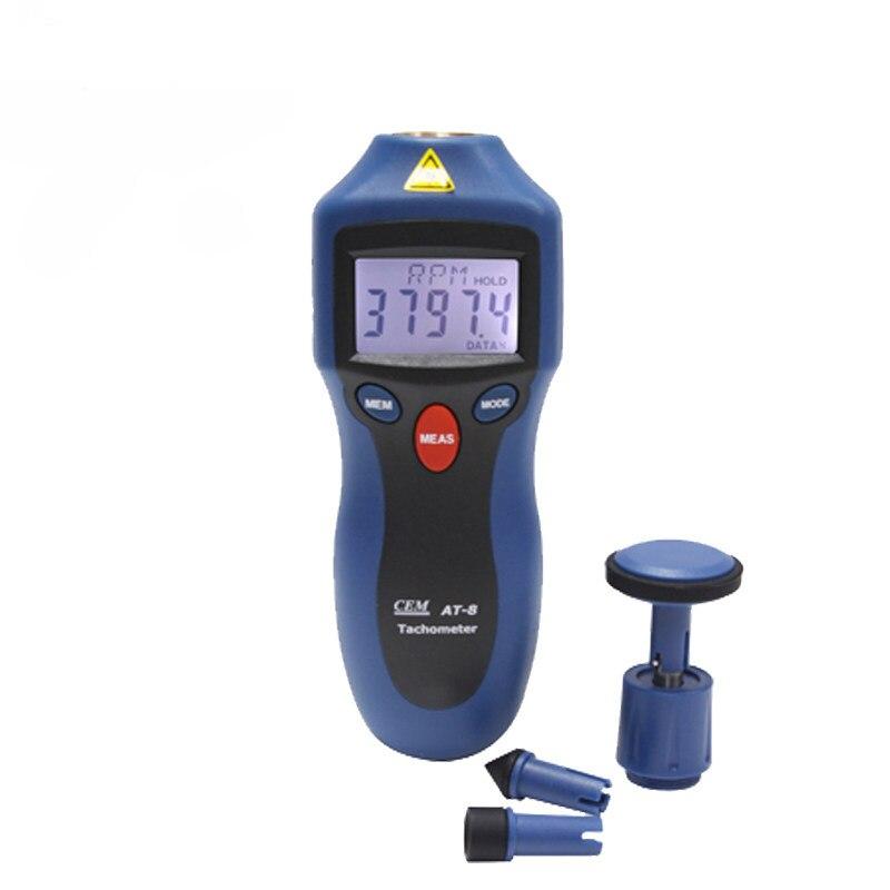 Tachymètres numériques LCD RPM mesure de la vitesse de Test des objets rotatifs
