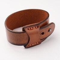 10 stks Imitatie Lederen Koord Armbanden Lederen Manchet Brede Armband en Rope Bangles Brown Vrouwen Mannen Mode Unisex Armband