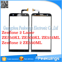 Sensor Digitizer For Asus Zenfone 2 Laser ZE550KL ZE500KL ZE551ML Touch Screen Digitizer Panel For Zenfone 2 ZE550ML Touch