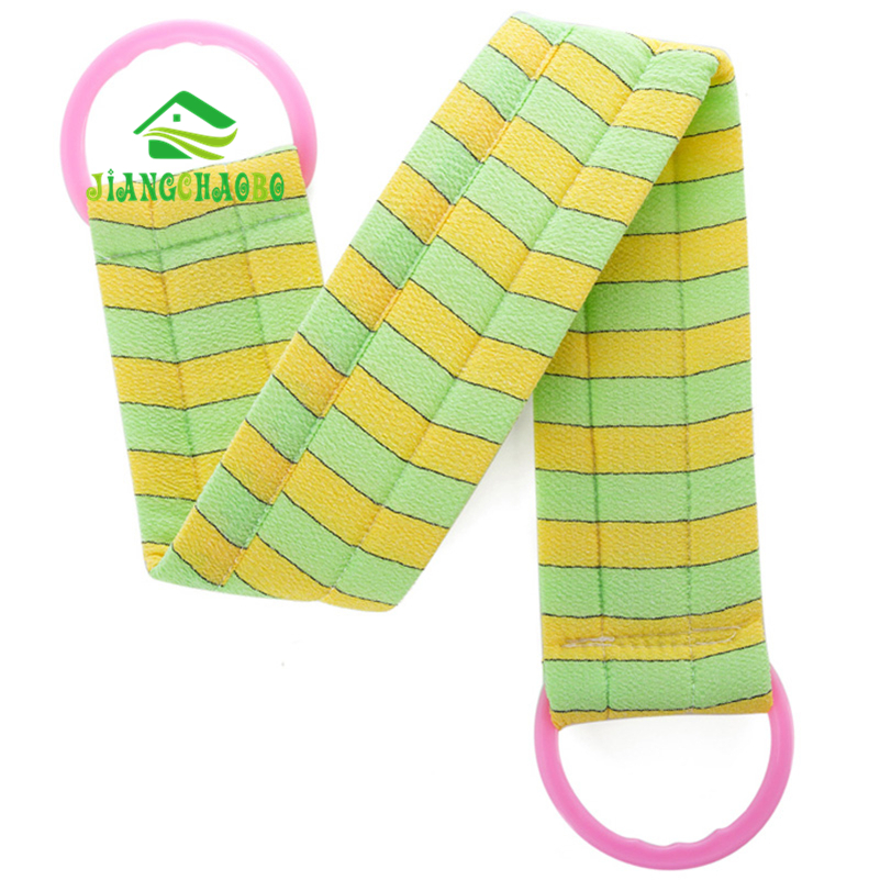 JiangChaoBo Long Strip Back Bath Towel Bath Rub Back Towel Stamp Rub Towel