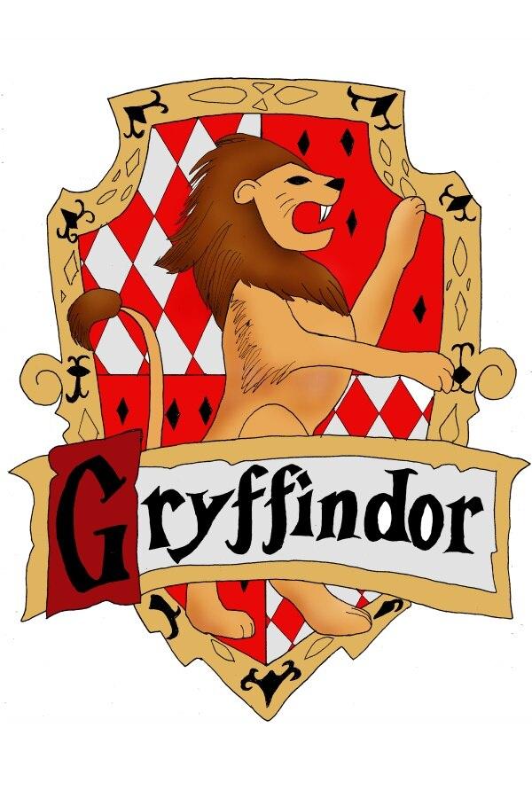 Custom canvas art harry potter poster harry potter wall - Gryffindor crest high resolution ...