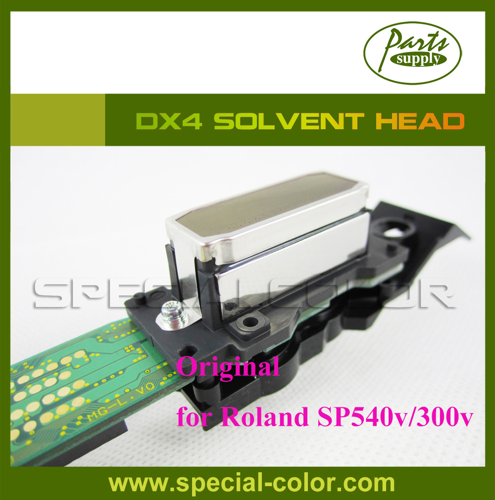 Original Japan Solvent Printhead DX4 SP540v/SP300v (Get 2pcs DX4 small damper free) new original dx4 solvent printhead for roland xj740 640 540 printer get 2pcs dx4 small damper as gift