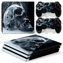 Крышка наклейки для PS4 Pro для Sony Playstation 4 Pro Консоль и контроллеры