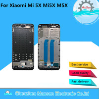 M Sen For Xiaomi Mi A1 5X Mi5X M5X With Light Flex Cable Front Bezel Middle