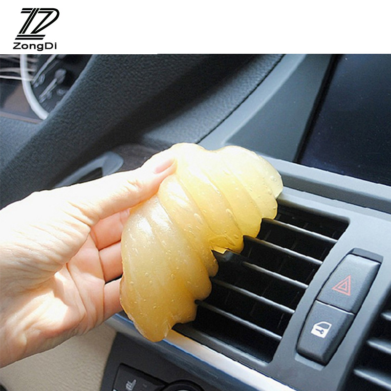 ZD 1 шт. гель для очистки автомобиля/клавиатуры, многофункциональная Очистка для Mazda 3 6 cx-5 Renault duster BMW e46 e39 e36 Audi a4 b6 a3, аксессуары