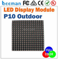 Leeman P10 RGB led module DIP, p10 full color led module, P10 led display outdoor full color RGB module 16x16 pixels