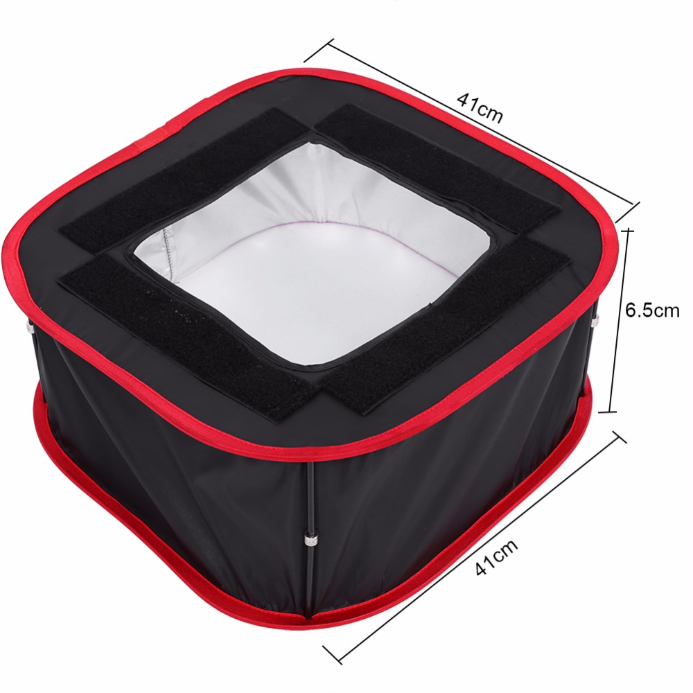 for studio photography compact led light panel softbox foldable diffuser soft filter accessoryin flash diffuser from consumer electronics on