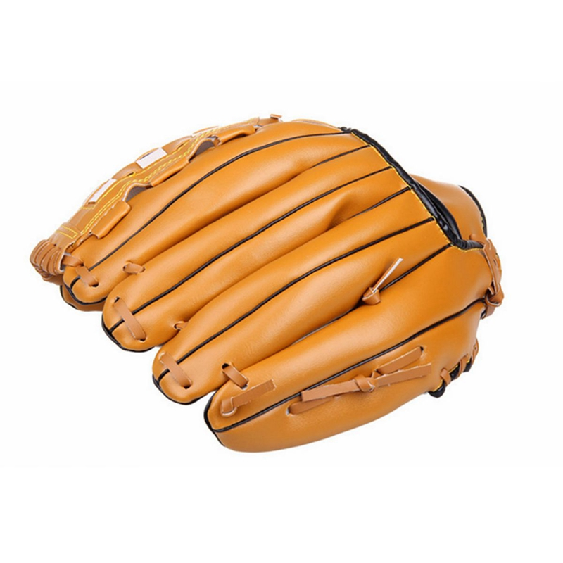 Outdoor Fun Sports Durable Baseball Glove for Adult Man Woman Equipment Left Hand Softball Practice Training Player Preferred