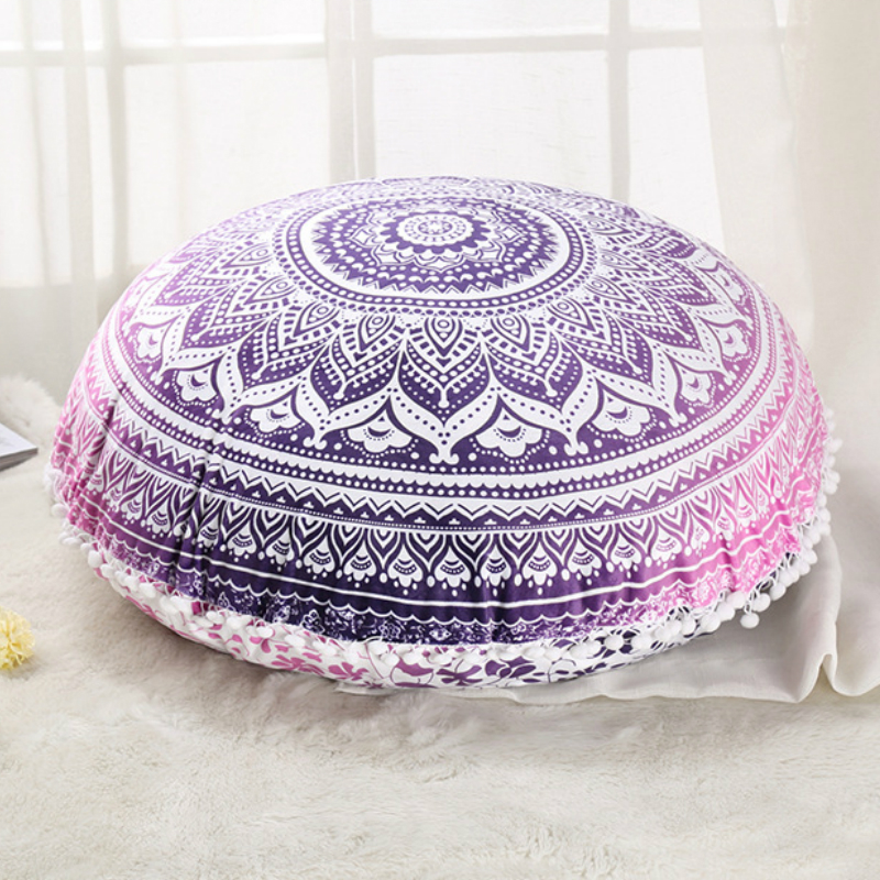 #a European style round car cushion home sofa cushion pillow boho Bohemia  Individuality originality