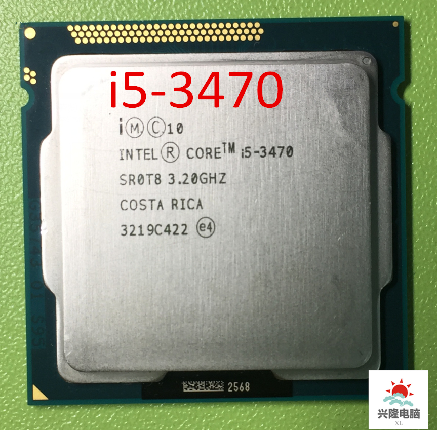 lntel Core I5-3470 I5 3470 i5 3470 3.2GHz Quad-Core LGA 1155 L3 Cache 6MB Desktop CPU