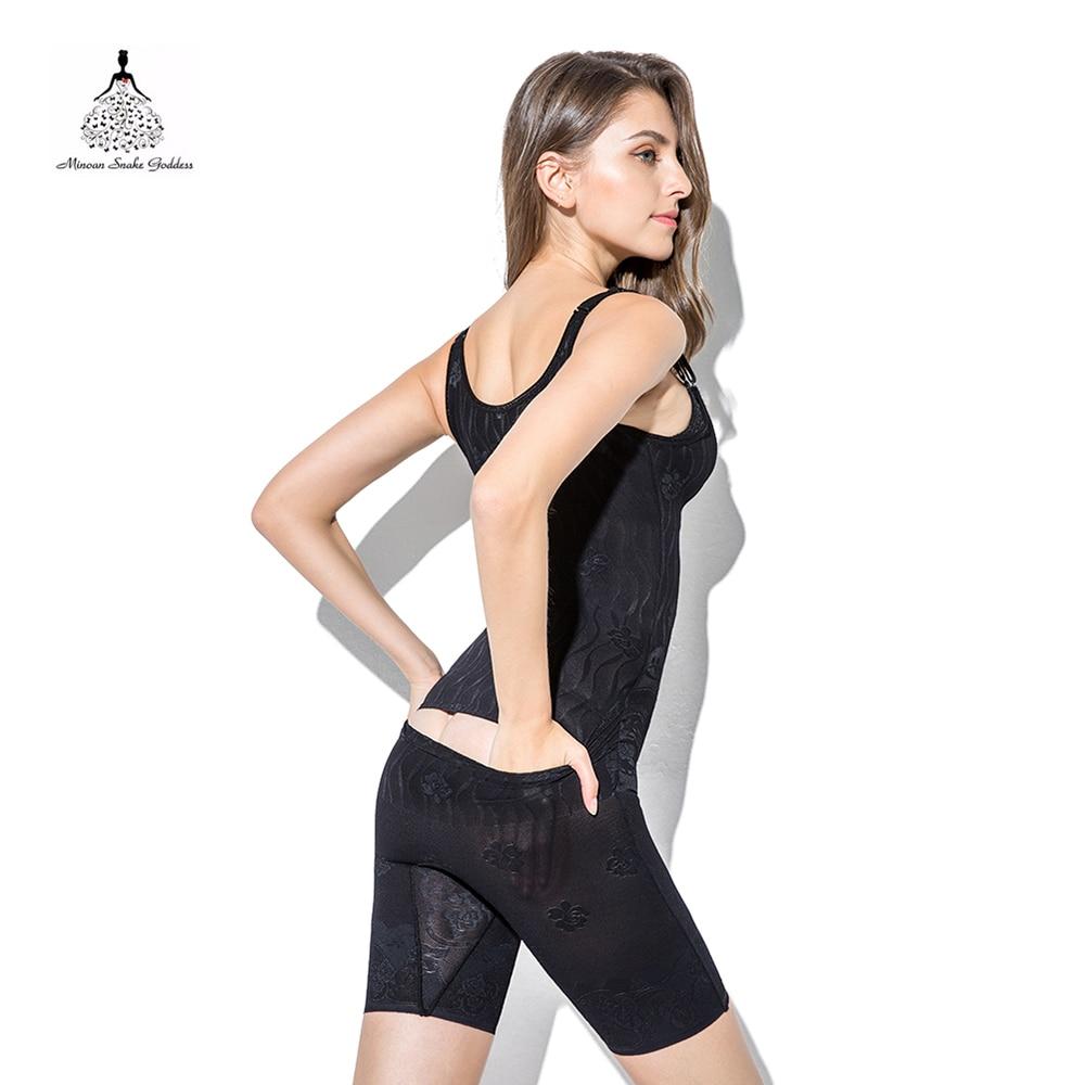 Image 3 - Shapewear  Slimming Underwear waist trainer body shaper Modeling Strap Slimming Belt Women corsets Tummy Control Opening Crotch-in Bodysuits from Underwear & Sleepwears
