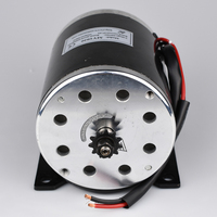 Electric Bike Conversion kit 500W 24V 36V 48V Brush Gear DC Motor e Scooter E bike Brushed Gear Motor With Footplate MY1020