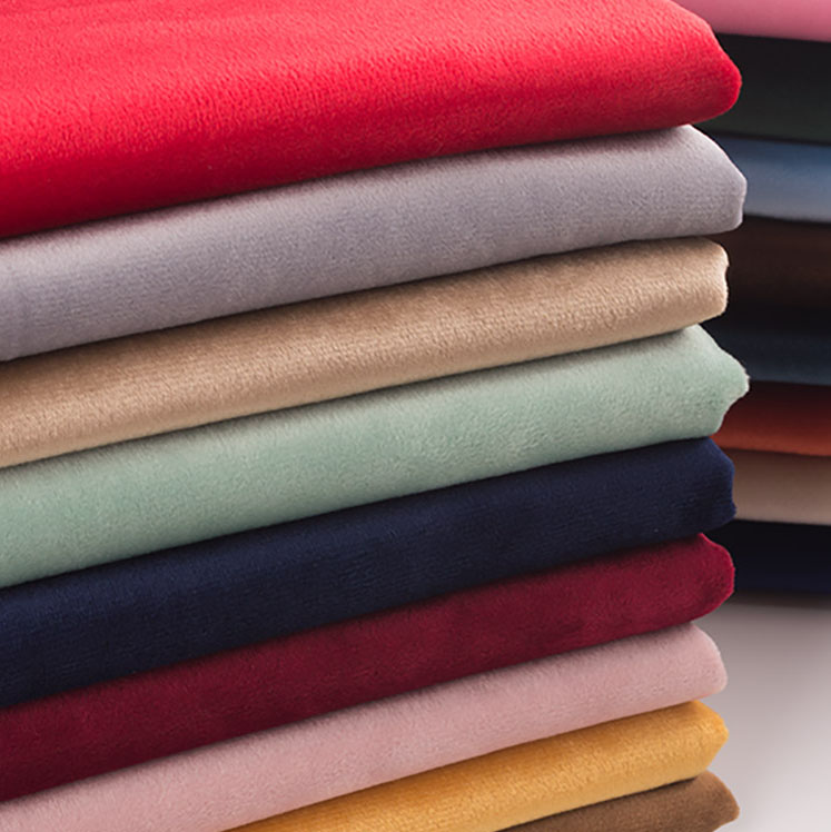 PLAIN VELVET FABRIC FAUX SUEDE DRESSMAKING UPHOLSTERY CURTAIN SOFT MATERIAL