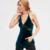 MAKEUCHIC Fashion Lace Patchwork Mujeres Sin Mangas Del Hombro Mujer Correa Camis Tops Streetwear Sólido Con Cuello En V Sin Respaldo Tops