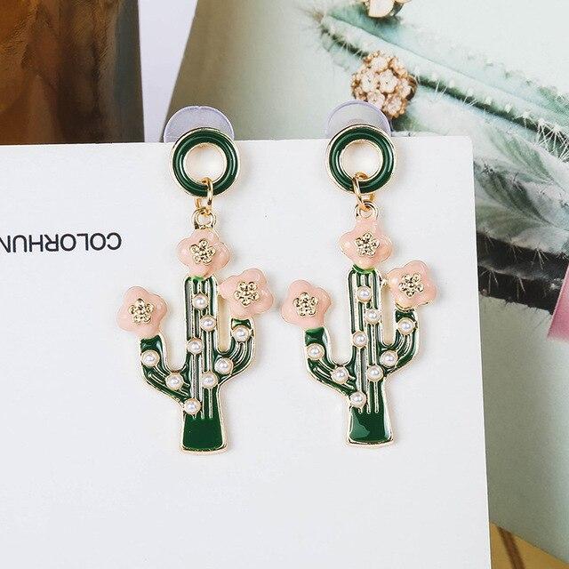Купить ziris корейский стиль большой преувеличенный тропический элемент