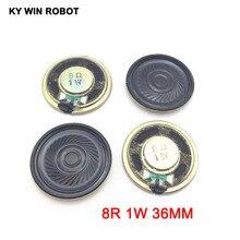 5pcs/lot New Ultra-thin Mini speaker 8 ohms 1 watt 1W 8R Diameter 36MM 3.6CM thickness 5MM