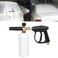 Kaneed High Pressure Car Wash Foam Gun Soap Foamer Generator Water Sprayer Gun 3/8 Quick connect