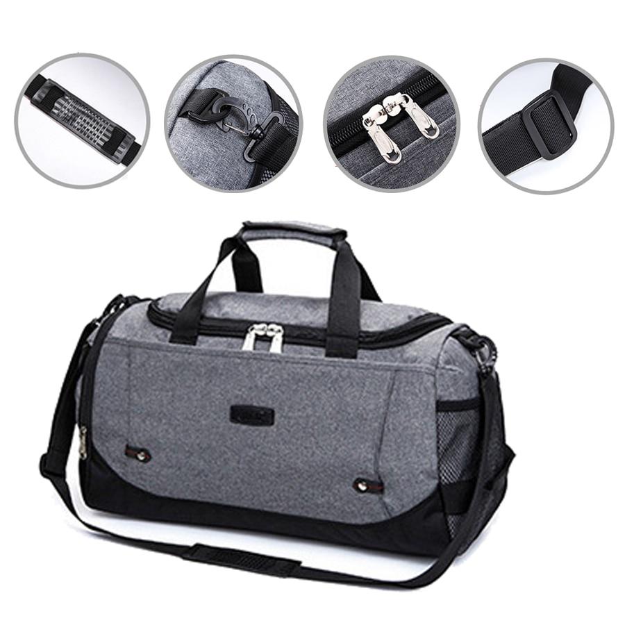 Fitness Bag 30L Multicolor Sport Men Woman Travel Durable Duffel Bag Large Handbag For Gym Training Yoga Luggage Black Red Blue