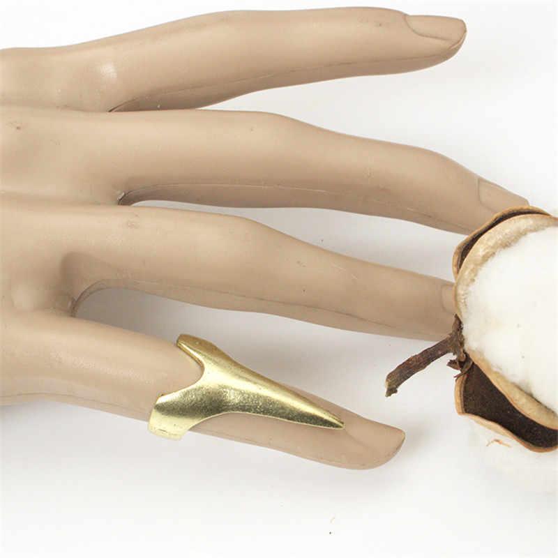 Retro Cool Punk Gótico Garra Anéis Personalidade Europeia Moda Pata Anéis de Dedo Dedo Unha Anel Para Homens & Mulheres